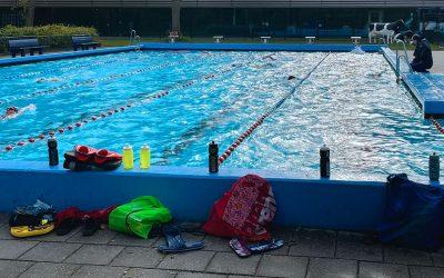 Voorzichtige herstart zwemtraining